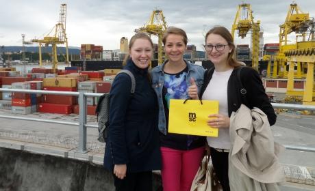Studenti VS Logistiky na exkurzi u DB Schenkeru